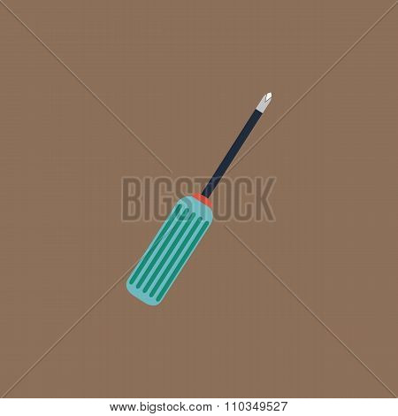 pocket phillips screwdriver icon, sign and button