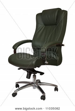 Green Luxury Office Armchair