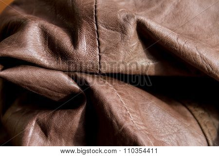 Crumpled Interesting Leather