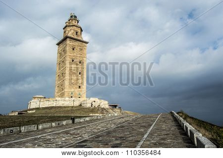 Tower of Hercules in A Coruna