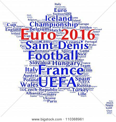 Euro football 2016 in France