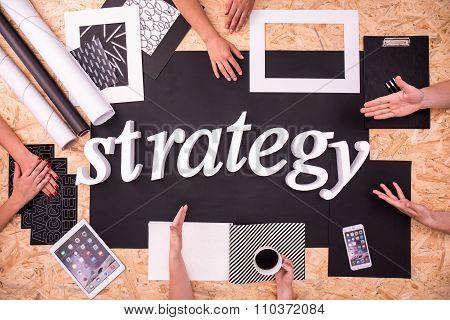 Business Team Establishing New Strategy