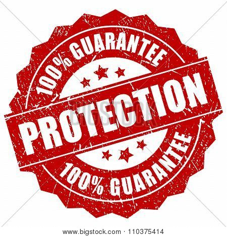Protection guarantee stamp