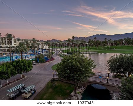 the JW Marriott Desert Springs
