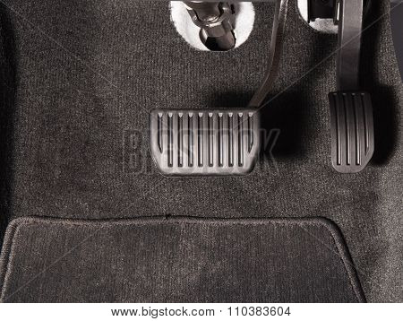 Brake And Accelerator Pedal