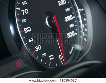 Car speedometr dashboard