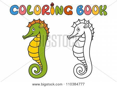 hippocampus cartoon