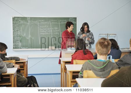 Science And Chemistry Classees At School