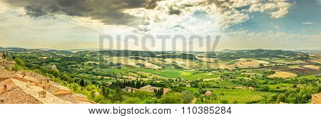 Val D'orcia Valley In Tuscany