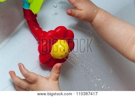 Playing In A Bath