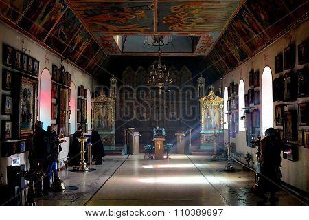 Russian Orthodox Church in Baku, interior