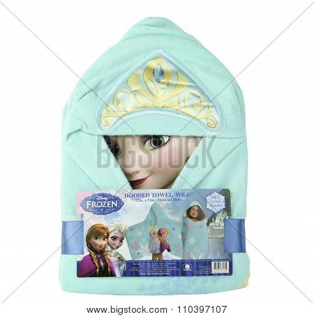 Disney Frozen Hooded Towel Wrap