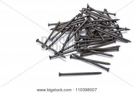 Pile Of Iron Nail