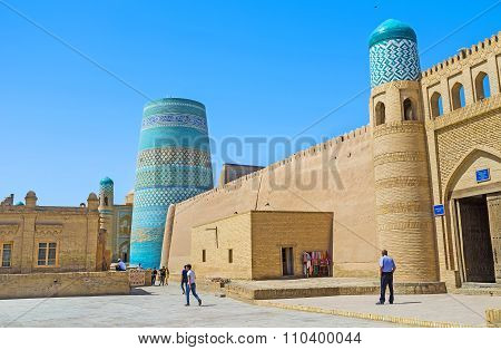 The Visit Card Of Khiva