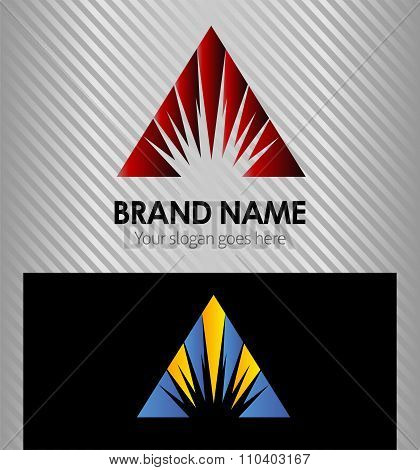 Creative logo template design