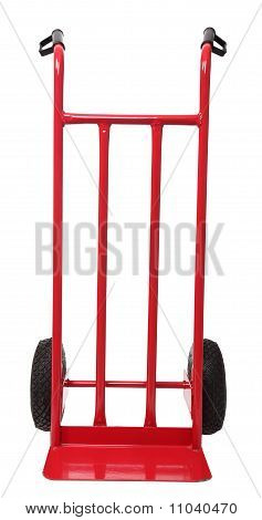 Handtruck Isolated On White