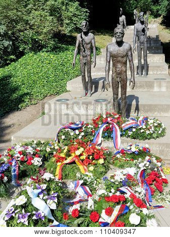 The Memorial To The Victims Of Communism, Petrin,  Prague, Czech Republic