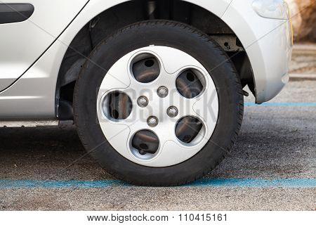 City Car Wheel, Gray Light Alloy Disc