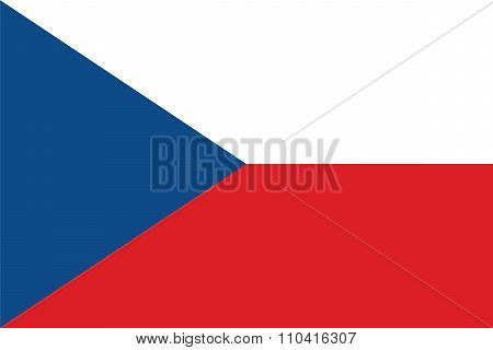 Standard Proportions For Czech Republic Flag
