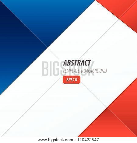 Background Dimension Modern,  Red, Blue Color