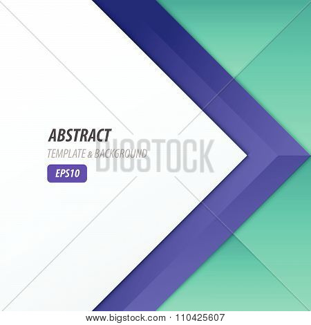 Background Overlap Dimension Modern, 2 Color Style