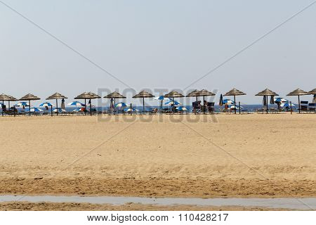 Piscinas Beach In Sardinia