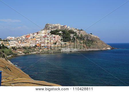 Castelsardo Town Sardinia