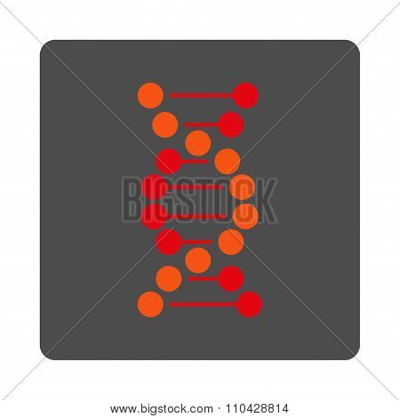 DNA Rounded Square Button