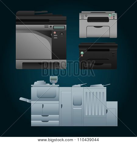 Digital printer set