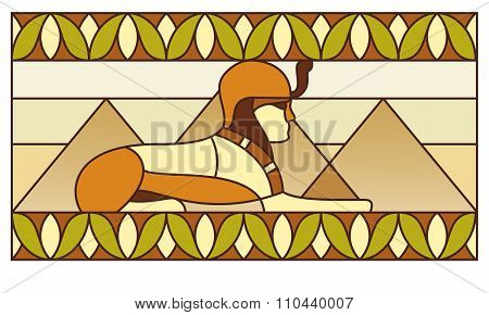 Pattern With Ancient Egyptian Symbols