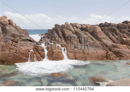 Natural Tidal Pool at Wyadup Rocks
