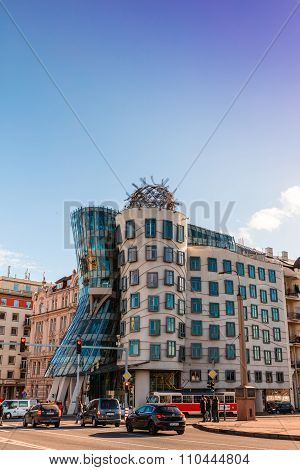 Dancing House in Prague.