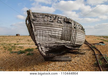 Boat At Dungerness