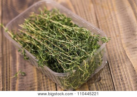Fragrant Rosemary Herbal Food