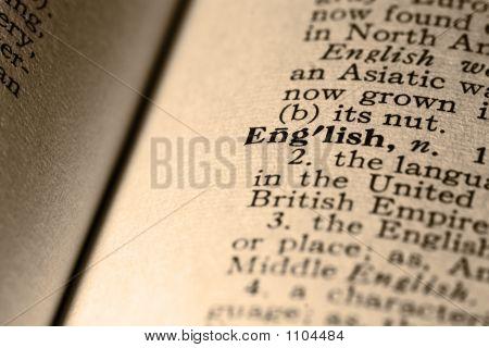 The Word English