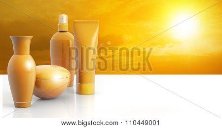 sun lotions