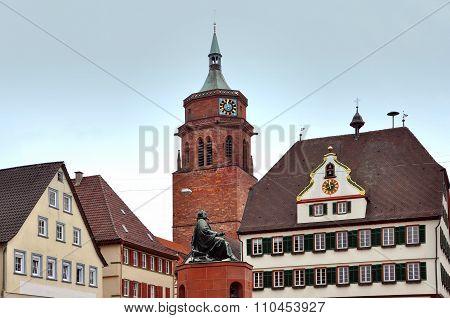 Old tower in Weil der Stadt