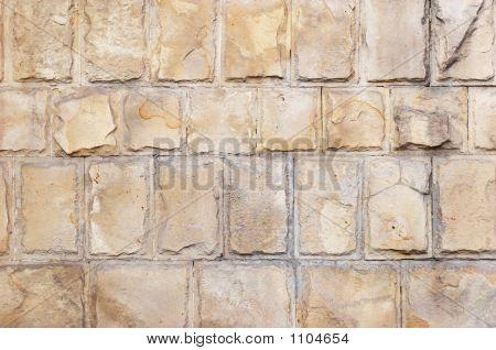 Limestone Bricks Background