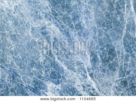 Ice Blue Marble Texture