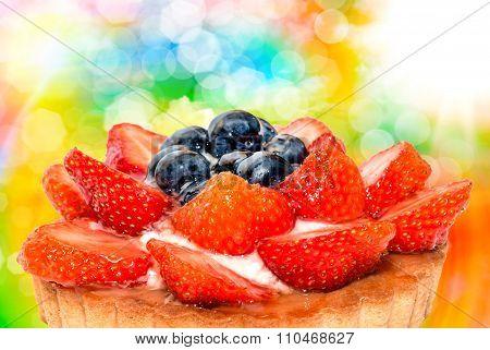 Fruit Cake Close Up