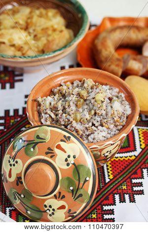 traditional kutia dish