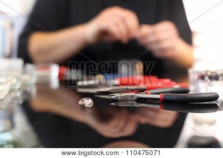 The jewelery workshop