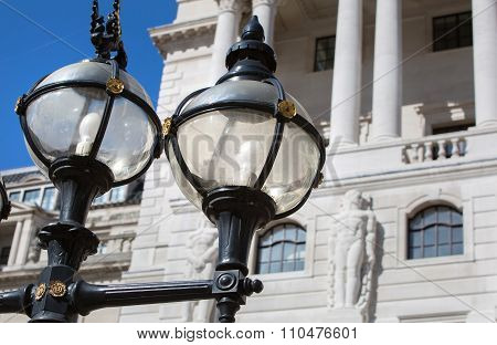 Bank of England and lanterns