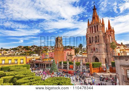 Parroquia Rafael Churches San Miguel De Allende Mexico