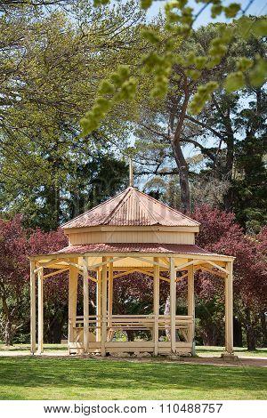 Rotunda In A Park