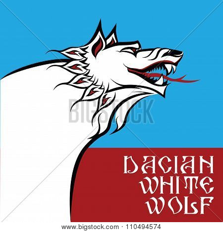 The Legendary Dacian White Wolf