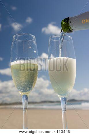 Celebración en la playa