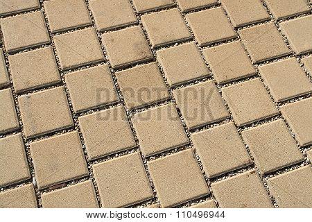 Patterned Paving Street Tiles