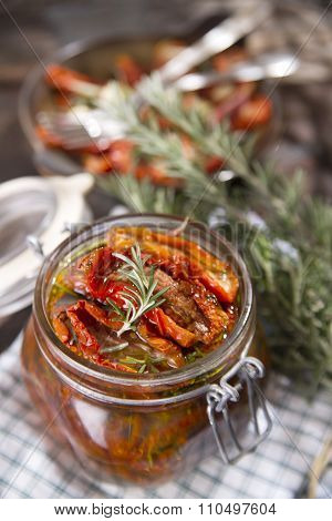 Dried Tomatoes And Rosemary