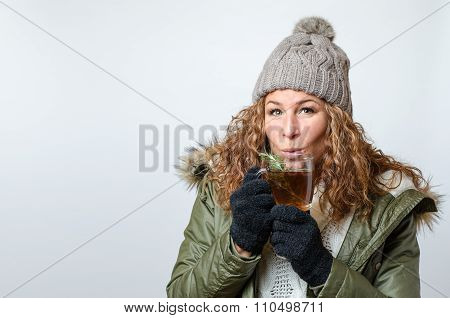 Woman With A Cup Of Tea
